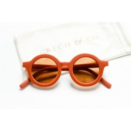 Grech and Co Sustainable Sunglasses Rust