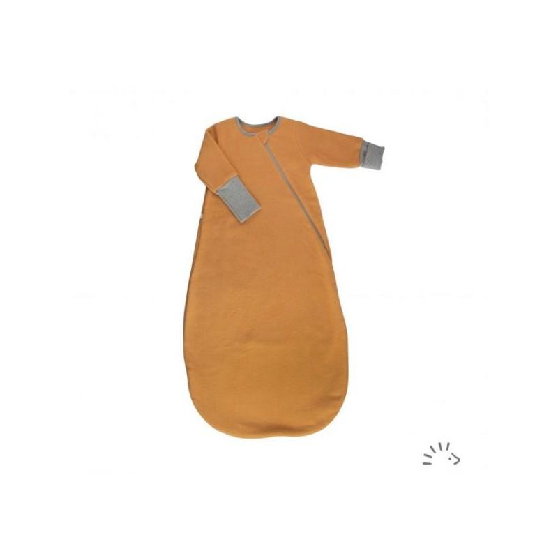 Iobio Sleeping Bag 1/1 cotton fleece GOTS honey