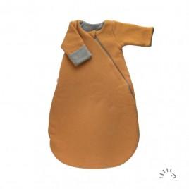 Iobio Sleeping Bag Newborn 1/1 Cotton Fleece GOTS honey