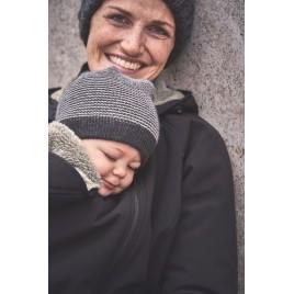 Mamalila Allweather Jacket for Babywearing Winter black