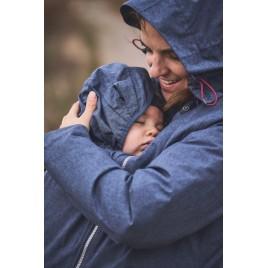 Mamalila Winter Babywearing Jacket Winterfriend ice blue
