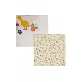 Frugi Lovely 2 Pack Muslin Gaggle of Geese