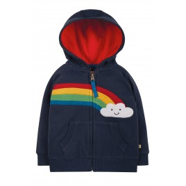 Frugi Hayle Hoody Indigo/Rainbow