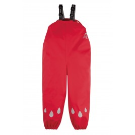 Frugi Puddle Buster Trousers True Red