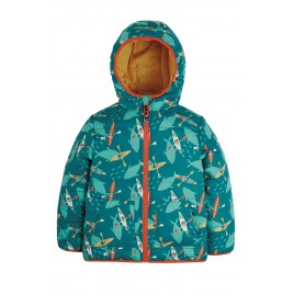 Frugi Reversible Toasty Trail Jacket Above and Below