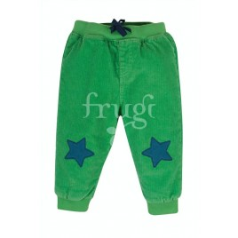Frugi Casius Cord Trousers Fjord Green