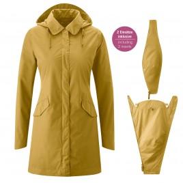 Mamalila Rain Babywearing Coat Dublin Mustard