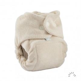 Popolini Newborn MiniSnap Organic ecru