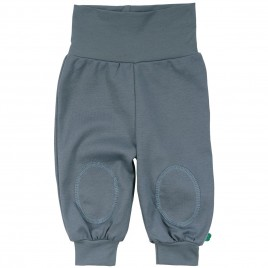 Green Cotton Alfa pants baby Stormy blue