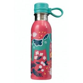 Frugi Large Splish Splash Bottle Watermelon/Dala Floral