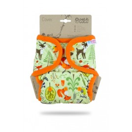 Petit Lulu One Size Cover (snaps) forest animals