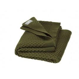 Disana Honeycomb BLanket  olive