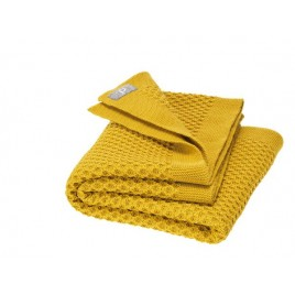 Disana Honeycomb BLanket  curry