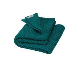 Disana Honeycomb BLanket  pacific