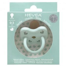 Hevea Speen0-3 maanden - rond  Eend Mint