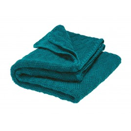 Disana Knitted Woollen Baby Blanket pacific