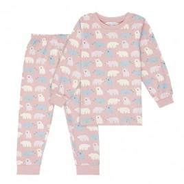 Sense Organics Long John Retro Pyjama Polar Bear