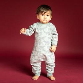 Sense Organics Strindberg Baby Sweat Romper Polar Bear