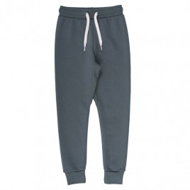 Green Cotton Sweatpants Pale Greymarl