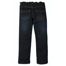 Frugi Lumberjack Lined Jeans Denim/True Red Check