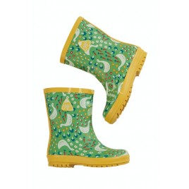 Frugi Puddle Buster Wellington Boots Springtime Geese