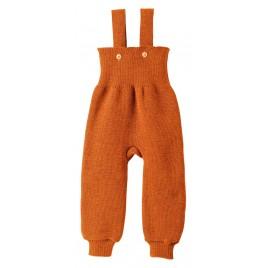 Disana Knitted Trousers orange
