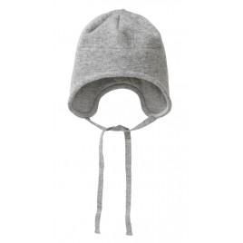 Disana Boiled Wool Hat grey