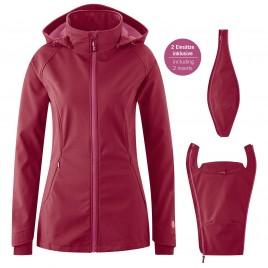 Mamalila Softshell Babywearing Jacket Allrounder berry