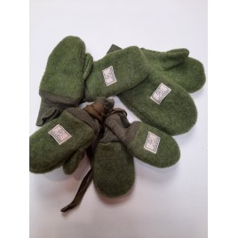 Pickapooh Wanten Wollfleece green