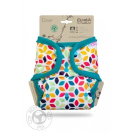 Petit Lulu One Size Cover (Snaps) Floral Cubes
