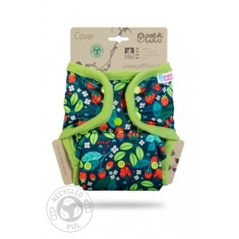 Petit Lulu One Size Cover (Snaps) Wild Strawberries