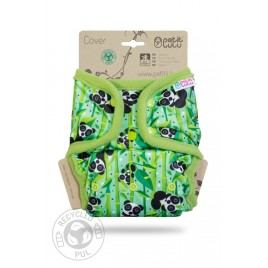 Petit Lulu One Size Cover (Snaps) Panda Bears