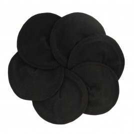 Imse Vimse Nursing Pads Organic Cotton Black