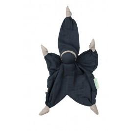 Hoppa Sisco muslin navy blue
