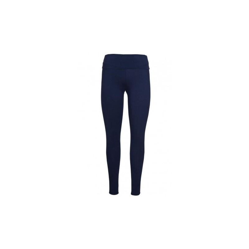 Frugi Roll Top Yoga Pants indigo