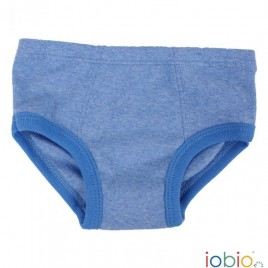 Iobio Panties boys blue melange