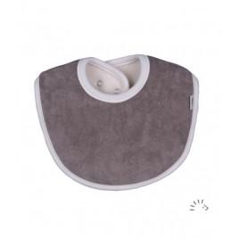Iobio Teething Bib 13cm grey
