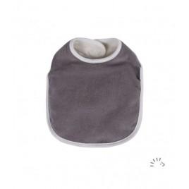 Iobio Bib terry organic grey