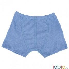 Iobio Boxer Shorts blue melange