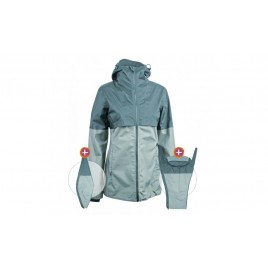 Mamalila Organic Rain Jacket  Aqua