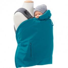 Mamalila Babywearing Cover Softshell- vario Teal