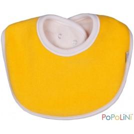 Iobio Teething Bib 13cm yellow