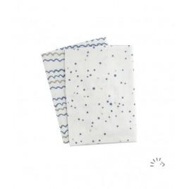Iobio Muslins Organic 120x120 Starry Sea
