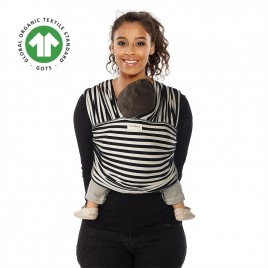 Babylonia Tricot Slen Design  black & white stripes