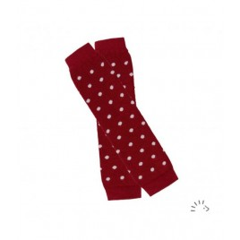 Iobio Baby Leg Warmers  cassis-dots