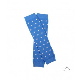 Iobio Baby Leg Warmers  light blue-dots