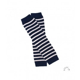 Iobio Baby Leg Warmers  striped-navy