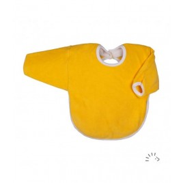 Iobio Long Sleeve Bib 30cm yellow