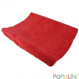 Popolini Changing Cover Frottee Organic cayenne