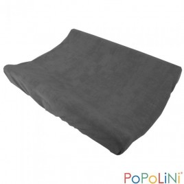 Popolini Changing Cover Frottee Organic grey